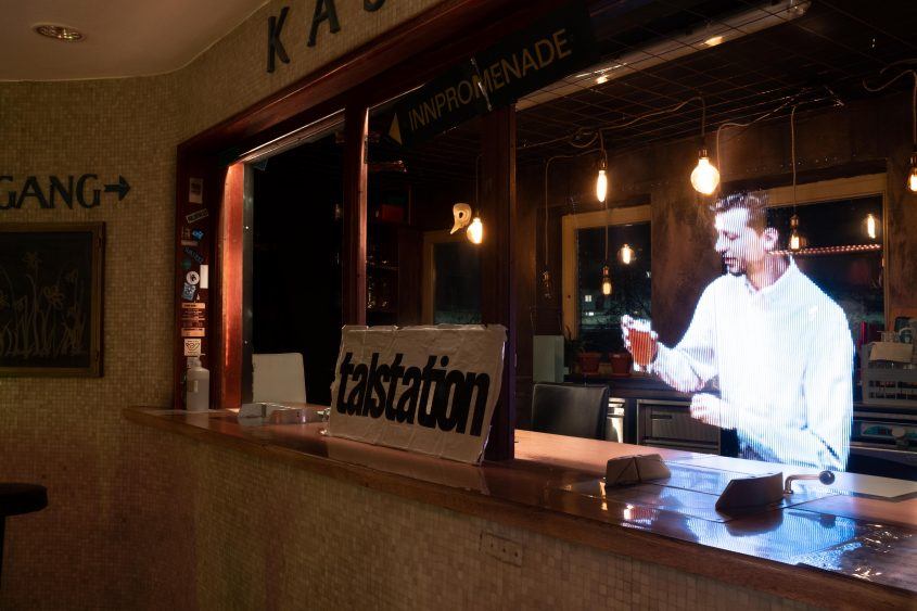 'Ein Bier bitte' - Talstation