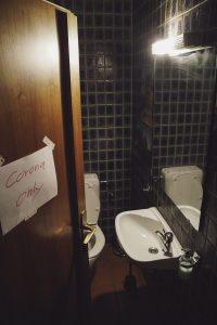 Corona Toilette